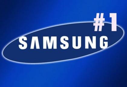 Samsung grootste smartphonefabrikant ter wereld