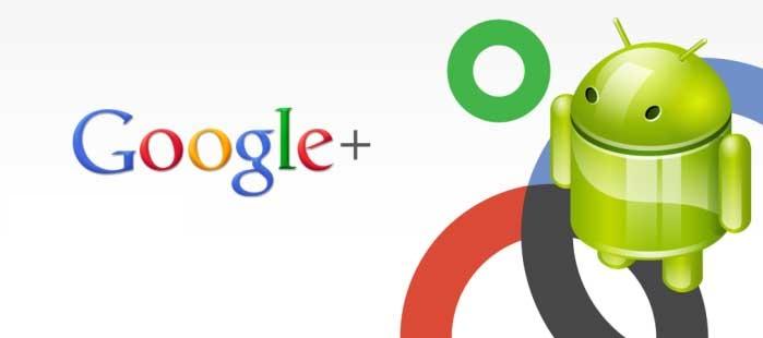 Google Plus 2.0 voor Android Ice Cream Sandwich gelekt