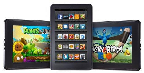 Amazon richt apart bedrijf op voor Amazon Kindle tablet