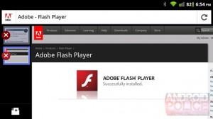 Geen Flash voor Firefox voor Android tot 2012 maar nu al wel te downloaden
