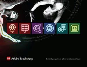 Adobe brengt zes tablet-apps uit waaronder Photoshop, Collage en Ideas
