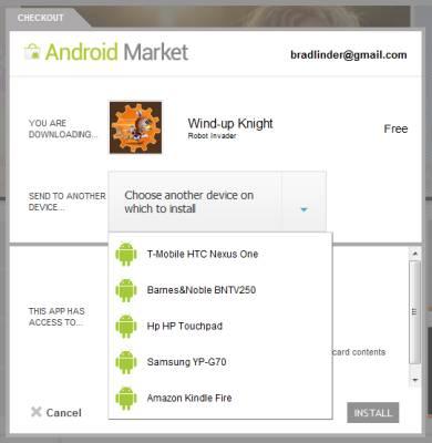 Website Android Market ondersteunt nu ook geroote apparaten