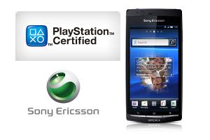 Sony Ericsson Xperia Arc en Acro krijgen PlayStation-certificatie