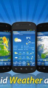 WeatherPro krijgt live wallpaper en is nu ook geschikt voor tablets