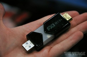 FXI's Cotton Candy is een Android-pc op een USB-stick