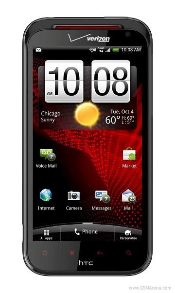 HTC Rezound voorkant