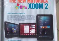 Motorola Xoom 2 met 8.2 inch scherm gaat 399 euro kosten