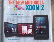 Motorola Xoom 2 Wi-Fi 16 GB versie gaat 399 euro kosten
