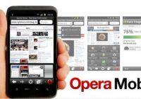 Opera Mini en Opera Mobile vernieuwd met datateller