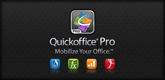QuickOffice Pro krijgt nieuwe interface en sociale netwerkintegratie