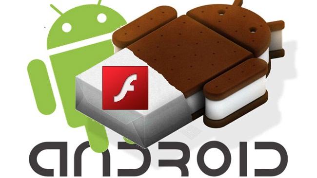 Nog wel Flash voor Android 4.0, niet meer voor Android 5.0