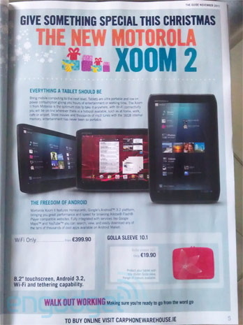 Carphone Warehouse Motorola Xoom 2