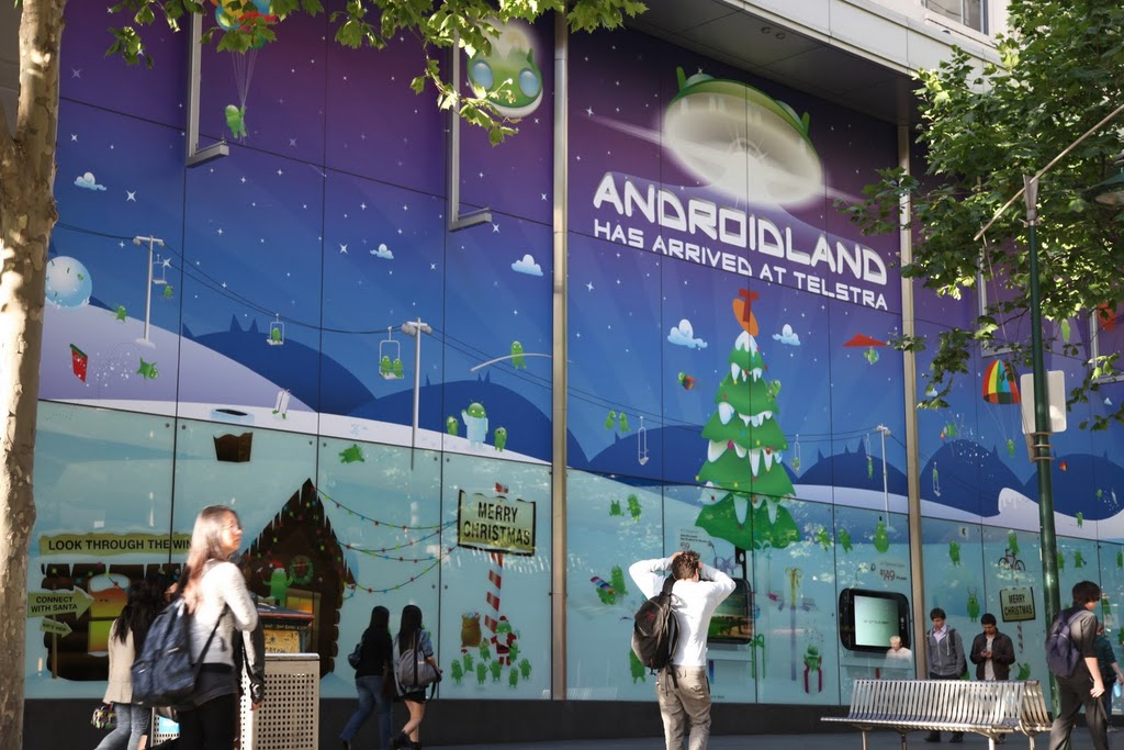 Androidland geopend in Australië