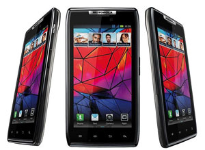 Europese Motorola RAZR krijgt update: nu met Evernote en betere camerafuncties
