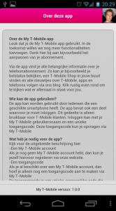 Over de App