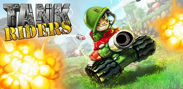 Tank Riders: tankgame met online multiplayer-functie