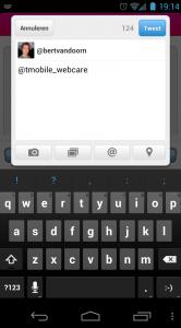 Twitteren met T-Mobile webcare