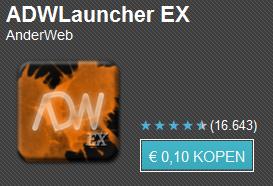 Tien apps voor tien cent dag 3 met o.a. ADW EX Launcher, Reckless Getaway en Tetris