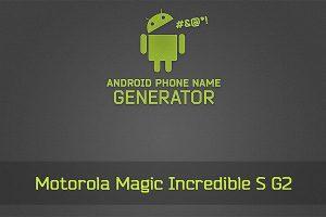 Android Phone Name Generator laat zien hoe raar telefoonnamen kunnen zijn