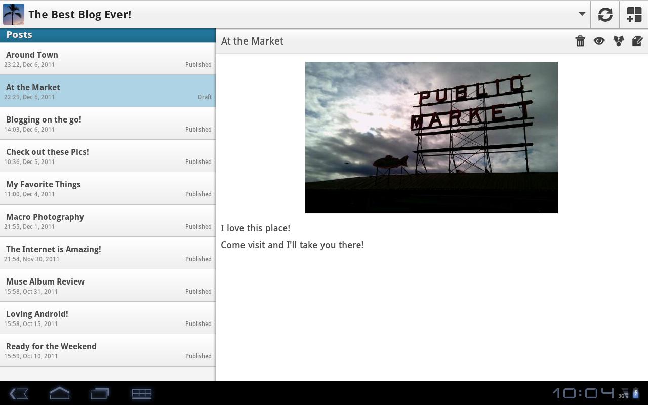 WordPress voor Android krijgt nieuwe interface en is nu ook geschikt voor tablets