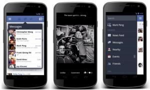 Facebook Android-app krijgt compleet nieuw design