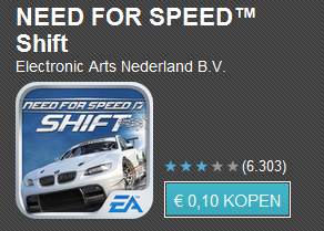 Tien apps voor tien cent dag 4 met o.a. Shazam Encore, Jelly Defense en Need for Speed Shift