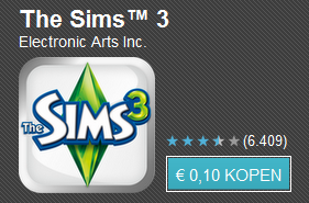 Tien apps voor tien cent dag 5 met o.a. Asphalt 6, The Sims 3 en Age of Zombies