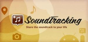 Deel de muziek van je leven met SoundTracking
