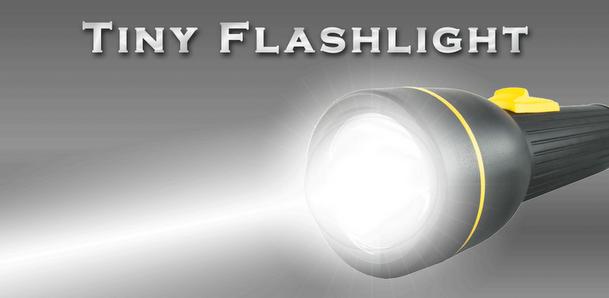 Altijd licht bij de hand met Tiny Flashlight