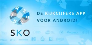 Top tien webtelevisie nu ook te vinden in SKO Kijkcijfer-app