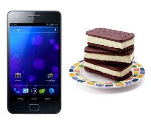 Eerste Ice Cream Sandwich ROM voor de Samsung Galaxy S II lekt uit