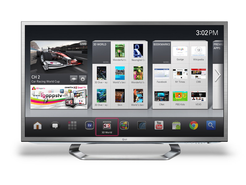LG presenteert televisie met Google TV #CES2012