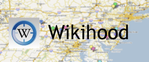 Vind relevante Wikipedia-pagina's in de buurt met Wikihood