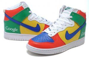 Alleen voor de echte Google-fan: Google-schoenen
