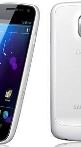 Eerste foto's witte Galaxy Nexus