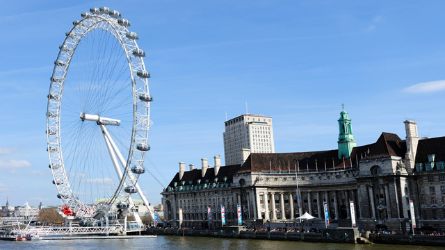 London Eye uitgerust met Samsung Galaxy Tab 10.1 tablets