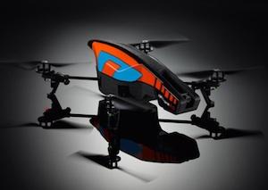 Parrot AR.Drone 2.0 met Android-besturing officieel aangekondigd in Nederland #CES2012