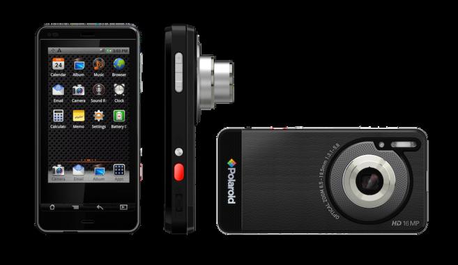 Polaroid combineert camera met Android-smartphone #CES2012