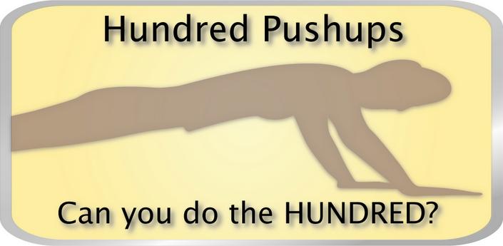 Leer honderd keer op rij opdrukken in zes weken met Hundred Pushups