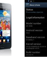 Android 4.0.3 voor Samsung Galaxy S II gelekt