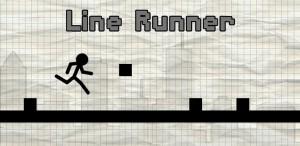 Line Runner: rennen met een stokmannetje