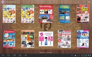 Digitale folders op je Android-apparaat bekijken met Reclamefolder