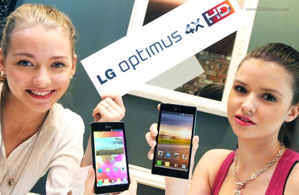 LG Optimus 4X HD: eerste quadcore-telefoon van LG
