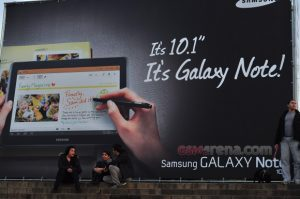 Samsung Galaxy Note 10.1 gelekt