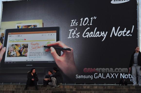 Samsung Galaxy Note 10.1 gelekt
