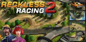 Reckless Racing 2: meer routes en meer auto's