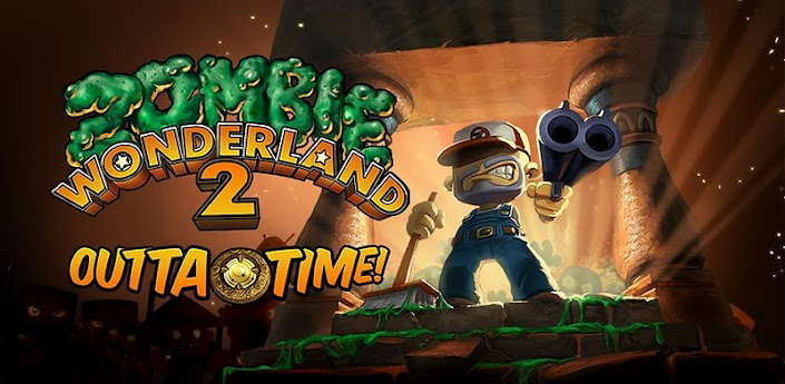 Onbeperkt zombies neerschieten met Zombie Wonderland 2: Outta Time