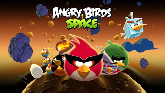 Angry Birds Space nu in Google Play te downloaden