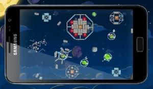 Rovia laat Angry Birds Space voor de eerste keer zien