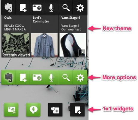 Evernote voor Android krijgt spraakherkenning en nieuwe widgets